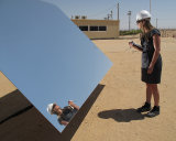 Tower Concentrated Solar Power Plantのための極度のClear Low Iron Solar Mirror Sheet