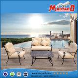 Ding en aluminium moulé à chaud défini les meubles de patio pour barbecue en plein air