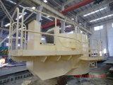 Base pour la grue de bord du navire