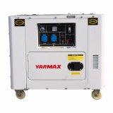 тип охлаженное воздухом изготовление передвижного тепловозного генератора 5kVA Ym9000t Ym190 молчком OEM