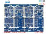 Placas de cobre do PWB de HDI com petróleo azul
