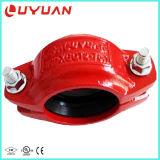 A abraçadeira do tubo de Material de ferro dúctil 8'' com ASTM A536