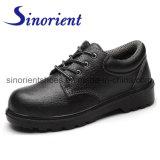 Черные кожаный ботинки безопасности Rh178 людей