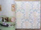 3D Behang van het Leer van het Behang 3D Geweven voor de Muren van de Decoratie van het Huis