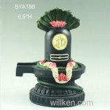Hars Lord Deity Shiva Black Statue Lingham Hindoese God
