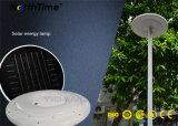 IP65 25W tout-en-un jardin ronde Voyant DEL de rue lumière solaire