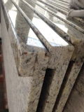 De opgepoetste Bovenkant/Countertop van de Ijdelheid van de Keuken van het Graniet
