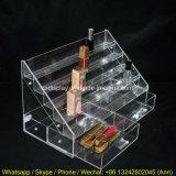 En acrylique transparent de haute qualité le vernis à ongles Stand titulaire cosmétique affichage acrylique