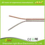 Cavo Rated dell'altoparlante forte 2conductor del Cl2 trasparente