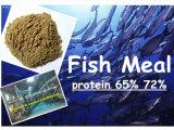 La harina de pescado de proteínas de pescado de mar el 65% 72%