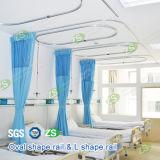 Fornitori del coperchio della guida di tenda dell'ospedale del tessuto del poliestere