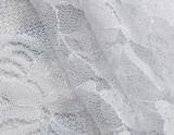 2018 Bordados em tecido de nylon com Novo Design para vestido de casamento