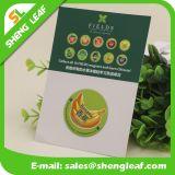 Cartão personalizado do logotipo personalizado ímãs personalizados do refrigerador