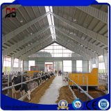 Materiais de construção Prefab do frame claro para a casa da exploração agrícola de gado