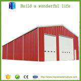 鉄骨構造の倉庫の工場建物の鉄棒のプレハブモジュラー構築
