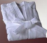 Comércio por grosso e Terry Personalizado Velvet Hotel SPA de têxteis de algodão Roupão Hotel Roupão