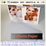 Vinil autoadesivo Rolls do PVC do branco Printable do Inkjet