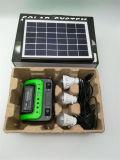 Kit d'éclairage solaire ampoule lampe LED du panneau à l'extérieur Jardin Accueil