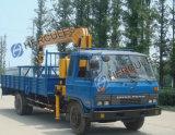 トラックによって取付けられるクレーン12トンの