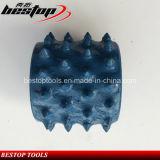 Rullo martellato Bush del diamante dei 60 denti per la fabbricazione di superficie di Lichi