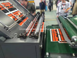caja de cartón ondulado de papel de laminación de la Flauta de corrugación Junta goma de pegar la máquina
