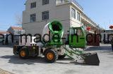 De gearticuleerde Sturende Concrete Mixer van het Cement met het Automatische Wegen