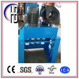 Máquina que prensa Uesd Italia de la amortiguación de aire con resorte de Hhp52-F del manguito hidráulico automático del PLC
