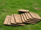 300 * 900mm Wood Polymer Compound WPC Deck Tile Sauna Board