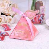 Nuevo producto de Creative, una auténtica boda dulces, caramelos de verificación de la boda, el buen tiempo de embalaje de chocolate Caja de regalo