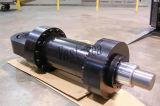 Único tipo ativo grande cilindro hidráulico da flange do Tonnage elevado