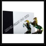 3-6mm simple miroir en aluminium recouvert de feuille de verre