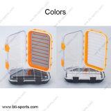 Die freie multi Großhandelskappen-verschiedenen Farben schäumt wasserdichter Fliegen-Kasten 09A-H20 des Fliegen-Fischen-100%