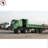Prezzo dell'autocarro a cassone della sabbia delle gomme 30ton di Sinotruk 6X4 371HP HOWO 8X4 12 da vendere