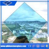 6.38mm Bleu Le verre feuilleté avec sa propre usine avec ce