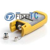 Tester ottico ottico tenuto in mano -50~+26/-70~+6dBm della fibra del tester di potere con il connettore della st LC dello Sc FC