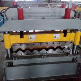 Uso popular rolo corrugado da folha da telhadura da telha que dá forma à máquina