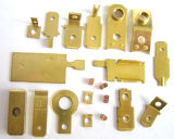 Auto le tournant d&d'usinage CNC de pièces de cuivre pour les produits électroniques la fixation