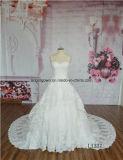 نساء ينظم عاج أرضية طول زفافيّ ثوب [بلّ غون] زفافيّ