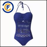 Signora pura sexy Swimwear del bikini di colore di nuovo modo di stile