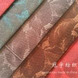 Tissu extrêmement mou de velours avec le support pour le sofa