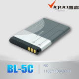 Батарея мобильного телефона высокого качества для Nokia Bl-5c