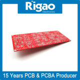 Доска PCB большого размера твердая с красной маской припоя