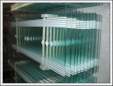 319mm snijden Grootte Aangemaakt Glas voor Treden, Leuningen, Balustrades, Deur, Groen Huis, de Bovenkant van de Lijst