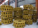 Lubricar la cadena de oruga bulldozer de excavadora Caterpillar Komatsu Hitachi Hyundai Deawoo Kato, Kobelco vía las piezas del tren de rodaje de enlaces