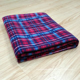 높은 Warmth Retention 및 Comfortable Travel Blanket Plain Outdoor Coral Fleece Blanket