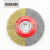 Multi Arbor Ring를 가진 높은 Quality Kseibi Circular Crimped Wire Wheel