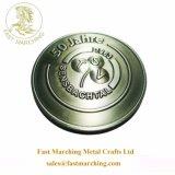 Il metallo militare della replica della foglia di acero di scintillio placcato fabbrica su ordinazione ha fatto le monete