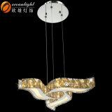 Moderno blanco lámpara de araña araña de cristales sueltos Om88595-3D