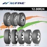 Neumático superior 315/80r22.5, 385/65r22.5, 13r22.5, 295/75r22.5, 315/70r22.5 y 1200r24 de la marca de fábrica de China con alto rendimiento