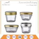 Grau alimentício recipientes de vidro para doces, Salsa, Embalagem de mel